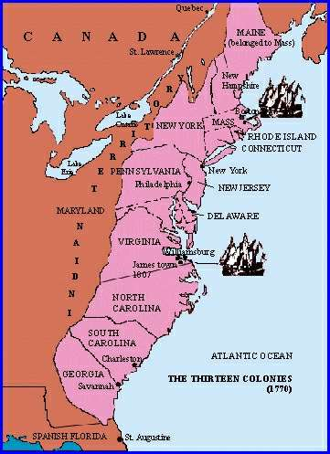 the role of puritans in the british north american colonies between 1607 and 1763